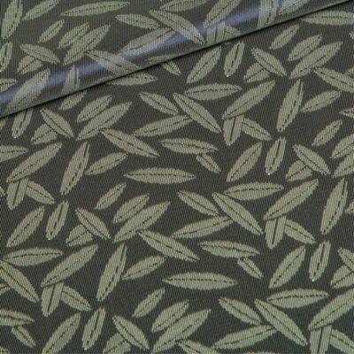 grey leaves lining