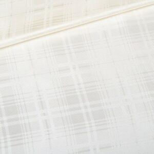 white textured lining