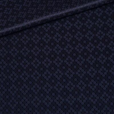 Design SmallHoneycomb Navy Blue
