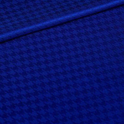 Design Pied de poule Blue Sapphire