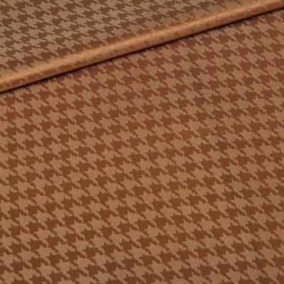 pied de poule brown lining