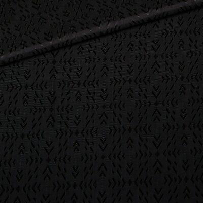 black textured lining
