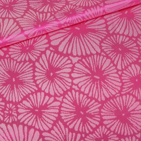 pink textured linings